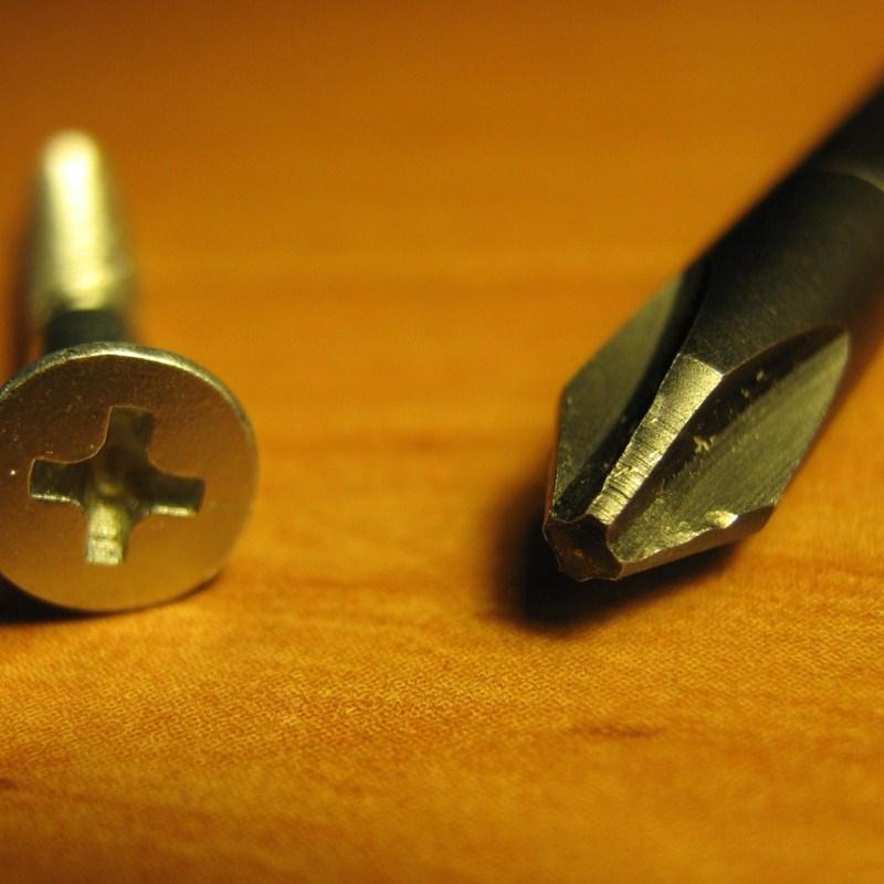 Remove the phillip screws with phillip screwdriver