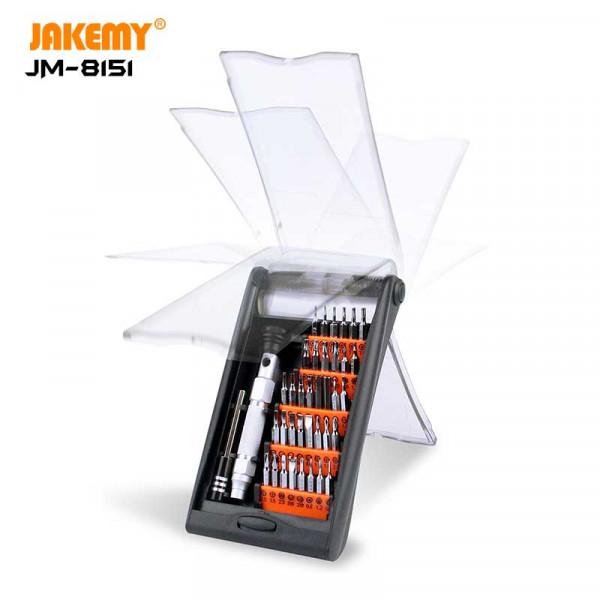 38 in 1 Aluminium alloy handle DIY repair tool kit JM-8151