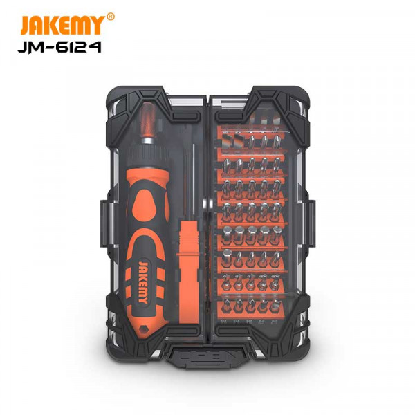JAKEMY 48 in 1 Household precision repair tool set JM-6124