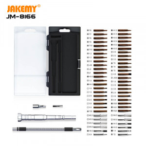 61 in 1 Portable precision screwdriver set JM-8166