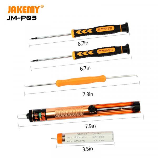 23 in 1 primary DIY welding tool set JM-P04