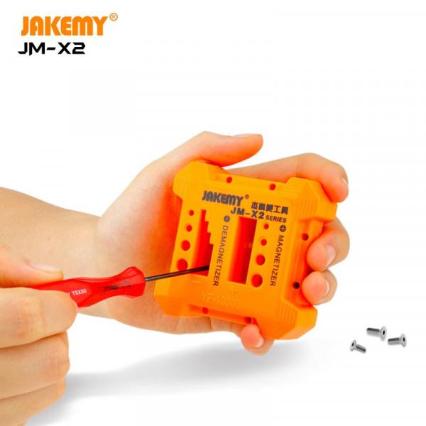 Mini size magnetizer and demagnetizer JM-X2