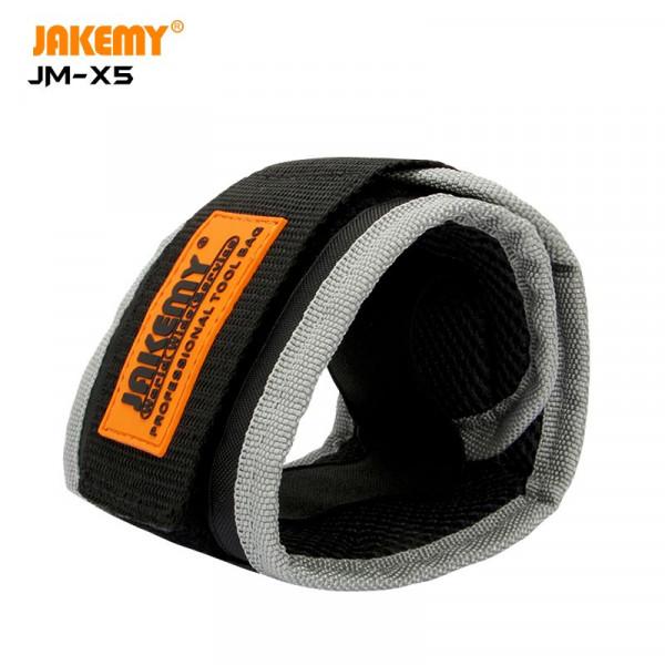 JAKEMY Oxford fabric magnetic wristband JM-X5