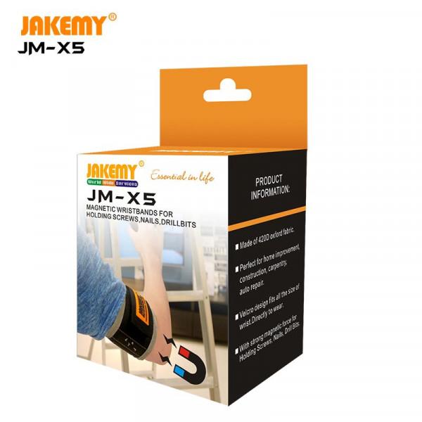 Oxford fabric magnetic wristband JM-X5