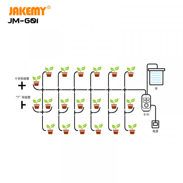 Intelligent automatic watering system drip irrigation JM-G01